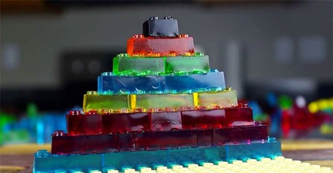How To Make Edible And Functional LEGO Gummy Candy?