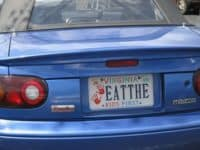 f4 200x150 - Funniest License Plates That are Actually Clever