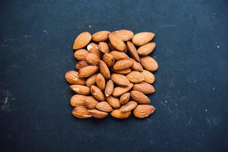 Almonds for lighten dark skin