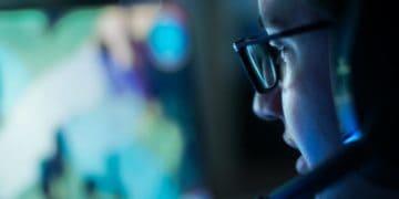 Blue Light Blocking Gaming Glass