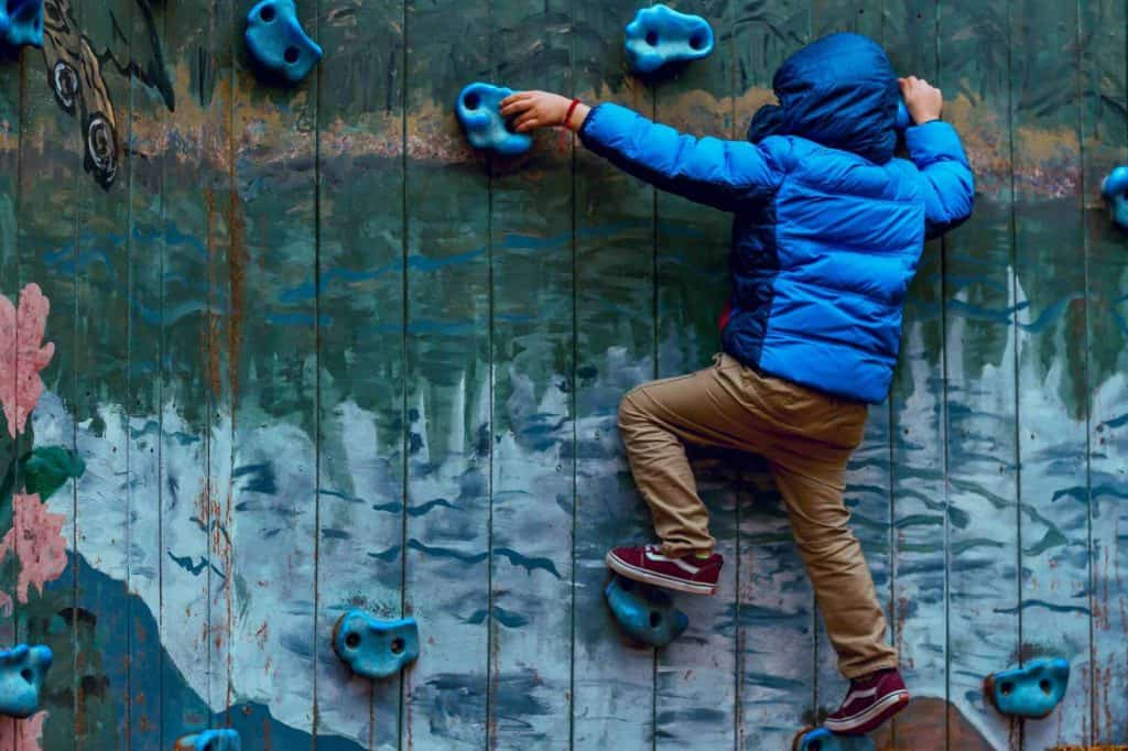 Wall Climbing For Losing Weight