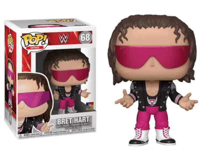 best funko pop Bret Hart