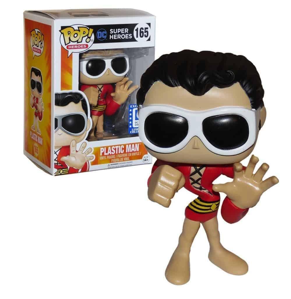 best funko pop Plastic Man