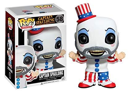 best funko pop Captain Spaulding